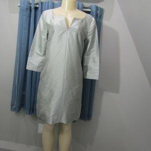 J CREW 100% SILK DRESS! NWOT